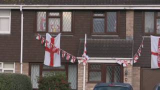 Thornbury People Support England For The World Cup