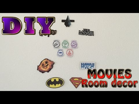 DIY Movies/Tv shows/Books room decor (The Hunger Games, Divergent, Harry Potter and more)