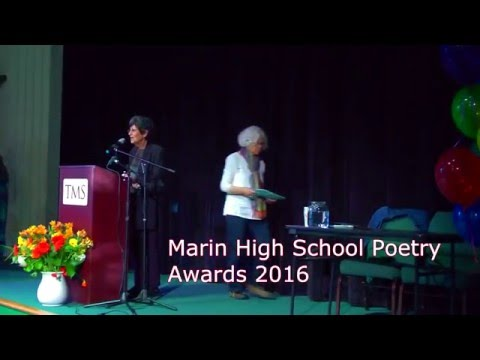 Marin Poetry Center 2016 High School Poetry Contest Awards