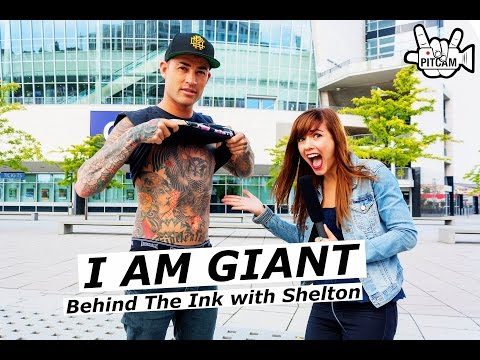 I AM GIANT Behind the ink with Shelton Woolright | www.pitcam.tv
