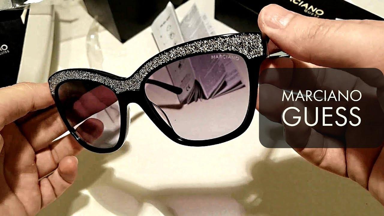 5d1fda788e Unboxing Marciano Guess Women`s Sunglasses - YouTube
