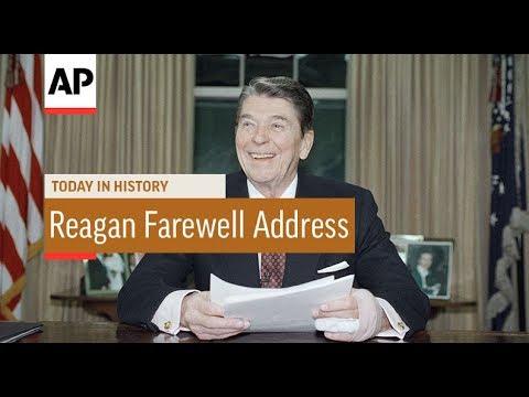 Reagan Farewell Address - 1989    Today In History   11 Jan 18