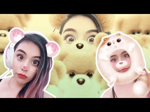 CUTE FACE FILTER APPS!