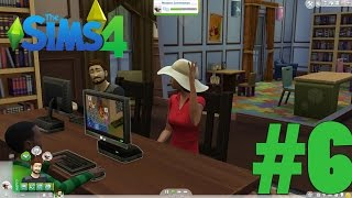 The Sims 4 - Gameplay Walkthrough [PC] Part 6 - Fun in the Library