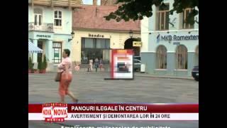 Doar avertisment pentru 7 zile de ilegalitate grosolană - NovaTv Mediaş