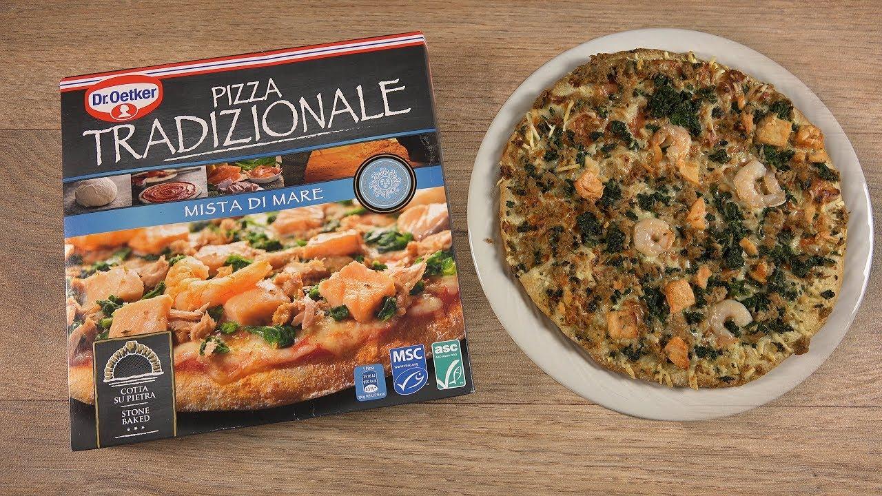 Droetker Pizza Tradizionale Mista Di Mare Lachs Garnelen