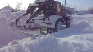видео трактор из газ 66