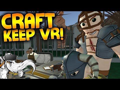 "Craft Keep VR Gameplay - ""VIRTUAL BLACKSMITH SIMULATOR 2K17!!!"" Virtual Reality Let"
