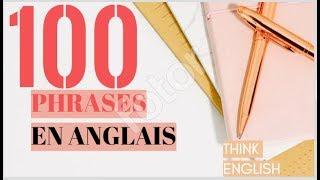 100 phrases les plus utiles en anglais pour débutant ! (part 1)