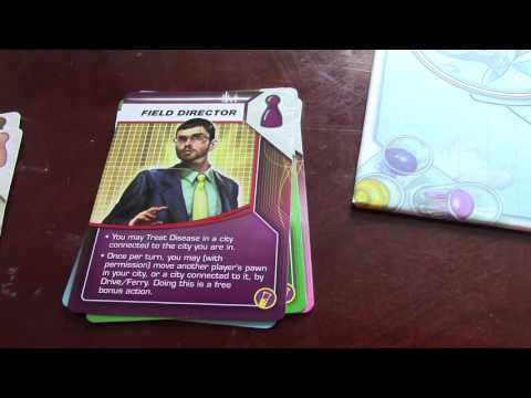 Matt's Board Game Review Episode 25: Pandemic; In the Lab