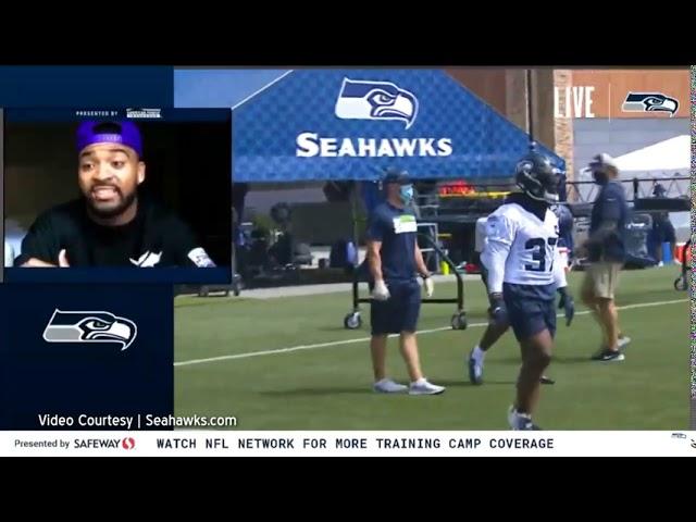 Seahawks Training Camp Day 1 2020-08-12