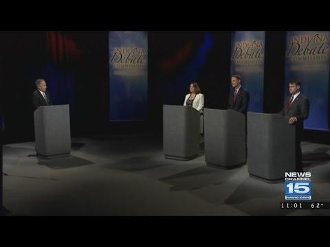 Indiana U.S. Senate Debate