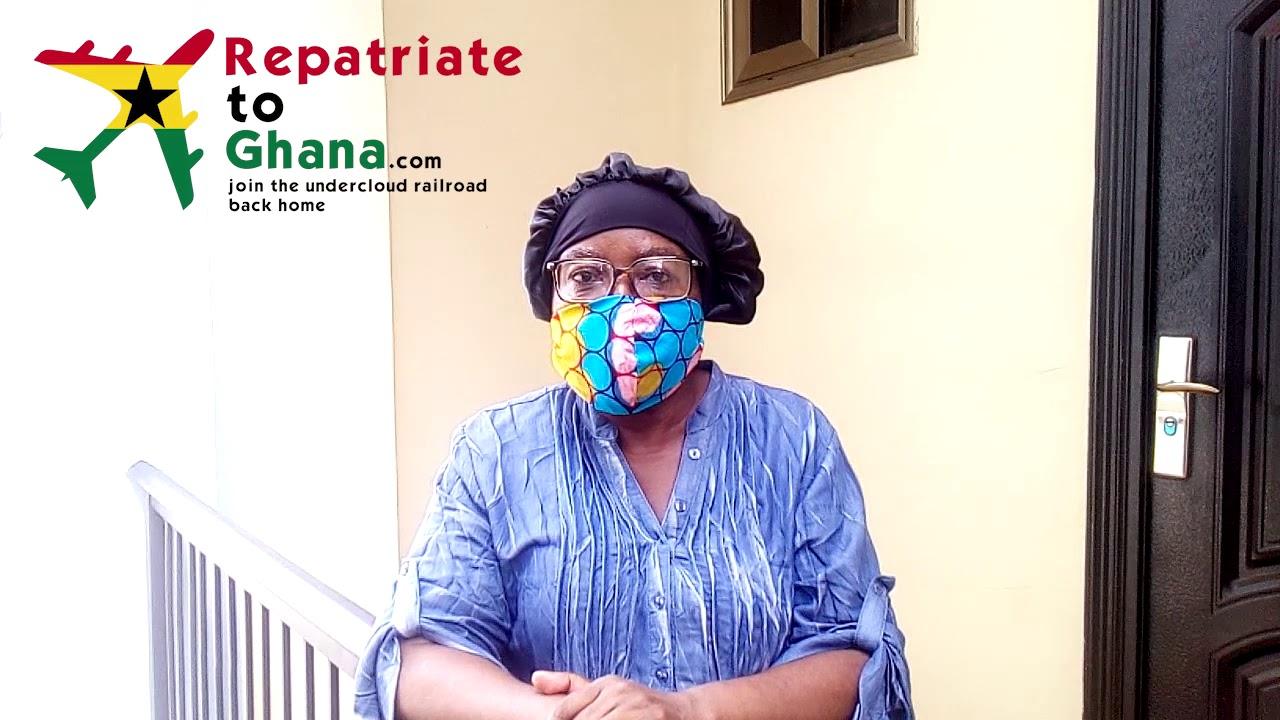 Mama Lillian H. RepatriateToGhana.com Testimonial