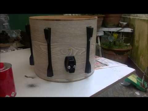 Restauración batería acústica