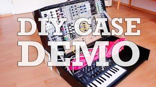 Portable Modular Synth DIY Case (incl. Eurorack & MicroBrute) #TTNM