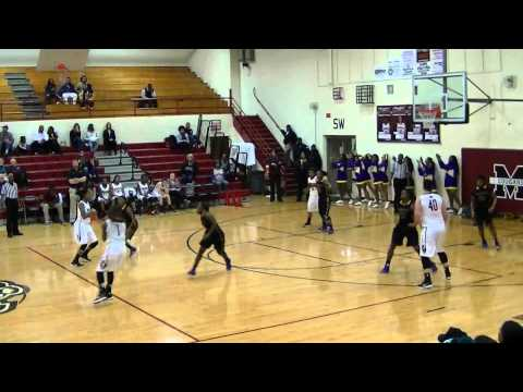 Phenicia Howard#24 Munford vs Covington High(Jan06,15)Last sec shot end 3rd Qtr