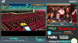Awesome Games Done Quick 2015 - Part 26 - F-Zero Climax by Yazzo