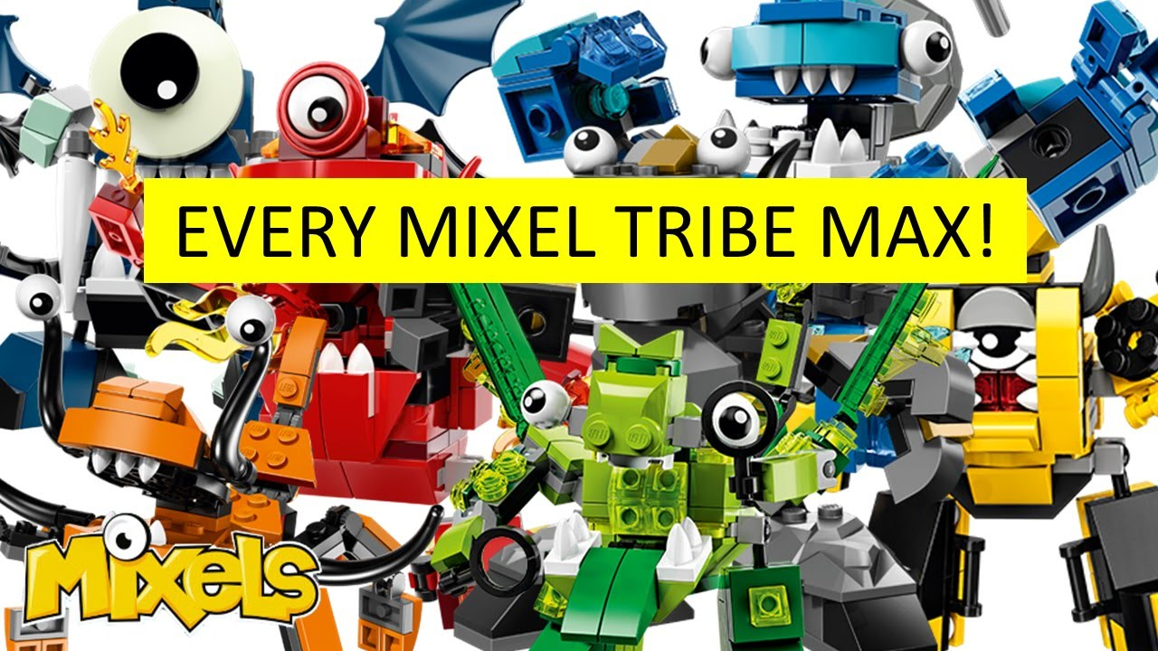 Lego Mixels Every Tribe Max Youtube