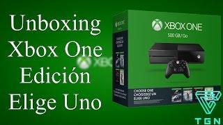 Unboxing Xbox One 500GB Edición Elige Uno en Español (MX) 1080p 60fps