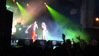 "Die Antwoord - ""I Fink U Freeky"" (mini-clip #5), Philly, 2/9/12 (1st Show of Tour)"