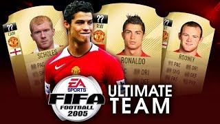 Gdyby FIFA 2005 miała ULTIMATE TEAM... - MANCHESTER UNITED
