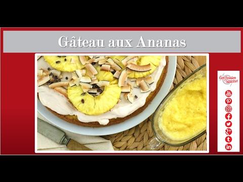 gâteau-aux-ananas---cuisine-santé-paléo