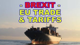 💷 Brexit and the Myths of EU Trade and Tariffs 💷