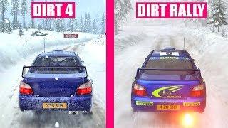 DiRT 4 vs DiRT Rally : Ultimate Graphics Comparison