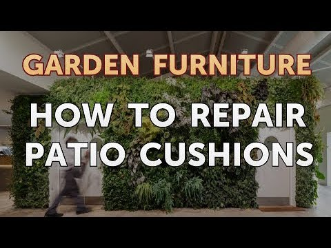How to Repair Patio Cushions