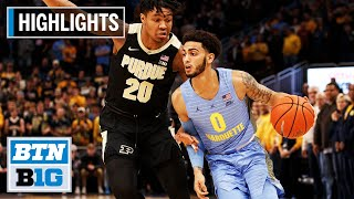 Highlights: Marquette Rallies Late for the Win | Purdue at Marquette | Nov. 13, 2019