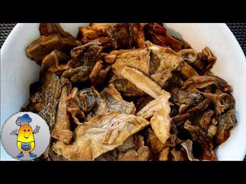 Что можно приготовить из сухих грибов в мультиварке
