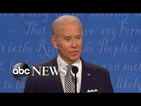 Trump, Biden spar over COVID-19, economy and racial tensions   Nightline