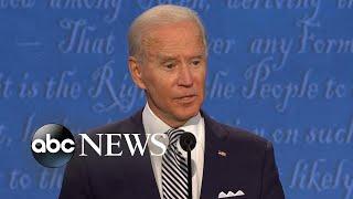 Trump, Biden spar over COVID-19, economy and racial tensions | Nightline