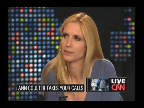 Ann Coulter VS. Joy Behar: Larry King LIve part 1