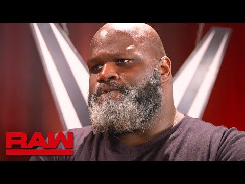 Mark Henry Compares Goldberg And Undertaker: Raw Exclusive, June 3, 2019