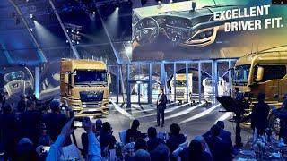 Así fue el lanzamiento mundial de la nueva generación de camiones MAN