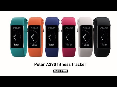 Polar A370 Polar Fitness Tracker with Wrist based Hear Rate Features