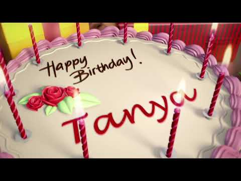 Happy birthday to you Tanya