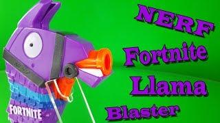 NERF FORTNITE LAMA BLASTER [Vorstellung | Schusstest]