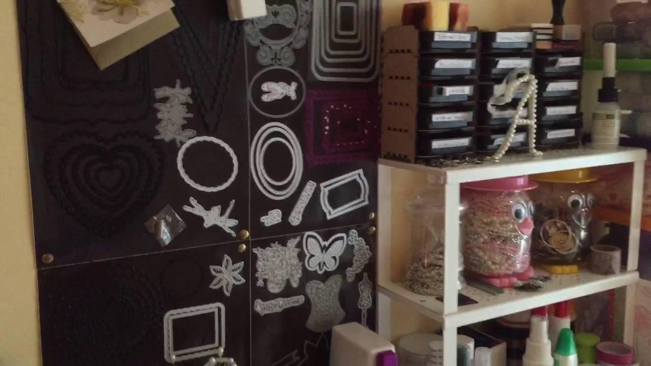 My Craft Room Ikea Furniture Layout Youtube