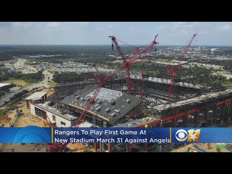 Rangers To Play First Game At Globe Life Field On March 31 Against Angels