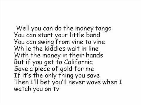 Michael Bublé Hollywood Is Dead Lyrics
