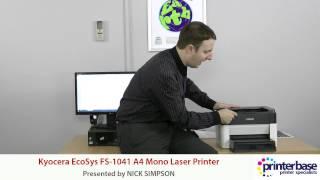 Kyocera FS-1041 Mono Laser Printer Review