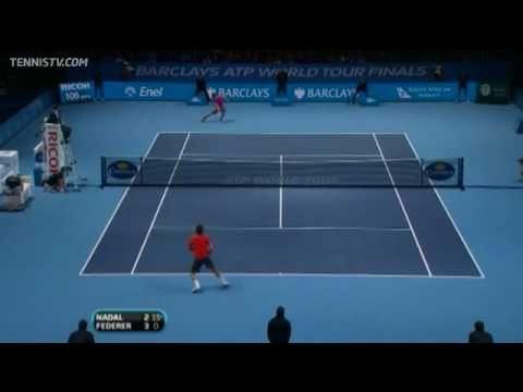 ATP World Tour Finals 2010 - Final Highlights - Rafael Nadal vs Roger Federer |