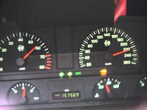 Alfa 164 V6 3L Turbo (60-260Km/h)