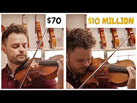CHEAP Vs EXPENSIVE Violins - Can You Hear The Difference?