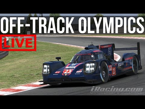 iRacing - Welcome To The Off-Track Olympics | iLMS @ SPA
