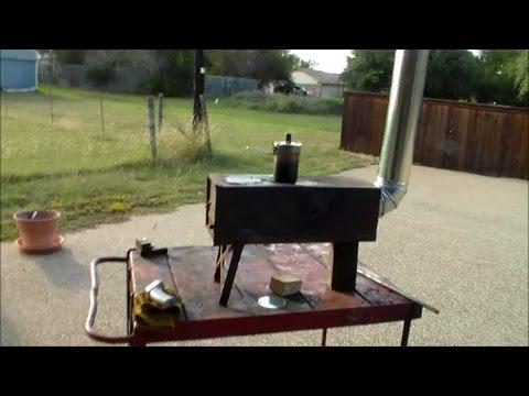 Yukon M-1950 wood stove