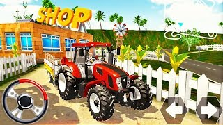 Tractor Driving Farming Simulator - Trolley Cargo Transport Drive - Android GamePlay screenshot 5