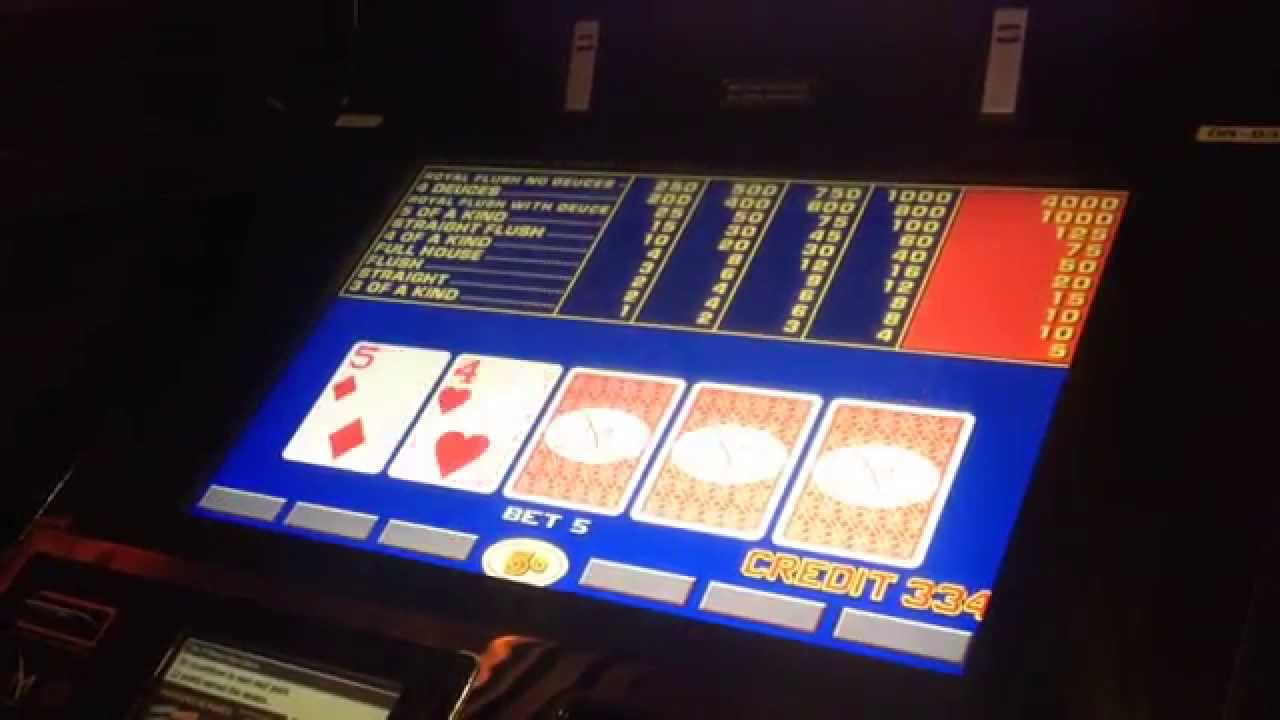 Video poker slots youtube brains vs artificial intelligence poker